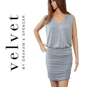 Velvet Graham And Spencer Gray Sexy Dress Size M